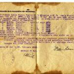 Prošnja kalskega župana, spisana leta 1919 v Kalu nad Kanalom