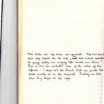 POW diaries - Captain Percival Lowe, item 114