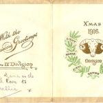 Pnr Eugene Marshall, Christmas 1916
