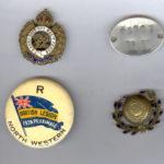Pnr Eugene Marshall's Badges