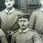 Mein Großvater zur Einberufung 1915