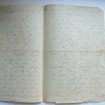 Handschriftlicher Feldpostbrief meines Großvaters vom 15.3.1915