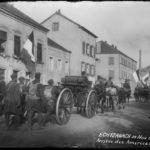 Echternach 24 Nov 1918 Arrivée des Américains
