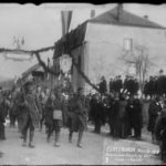 Echternach Nov 24 1918 Feierlicher Empfgang der Amerikaner