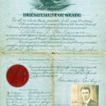 William J. McNamara's United States passport