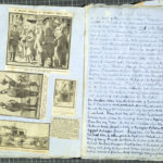 Tilly Hill's World War I scrapbook