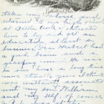 Letter from Henrietta Riley to Herbert Grant's mother