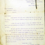 Letter from Lt. Col. G.D. Farmer to Miss J.W. Grant.