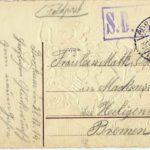 Feldpostkarte - Neujahrsgruß 1915, item 2