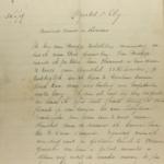 Brief van Emile De Jonghe aan de familie in Engeland (blz 1)