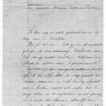 Brief vanuit het Duitse bezette gebied 1919, item 1