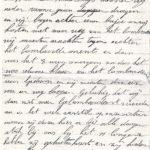 Brieven van mijn grootvader geschreven aan de Ijzer, item 2