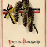 Postkarte - Ostergrüße zu Weihnachten