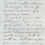 L'ultima lettera dello zio Giovanni Fiori in guerra