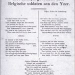 Gedrukte liedversie Jeanne-Elisabeth Shrapnell van Wouters & Moorman.