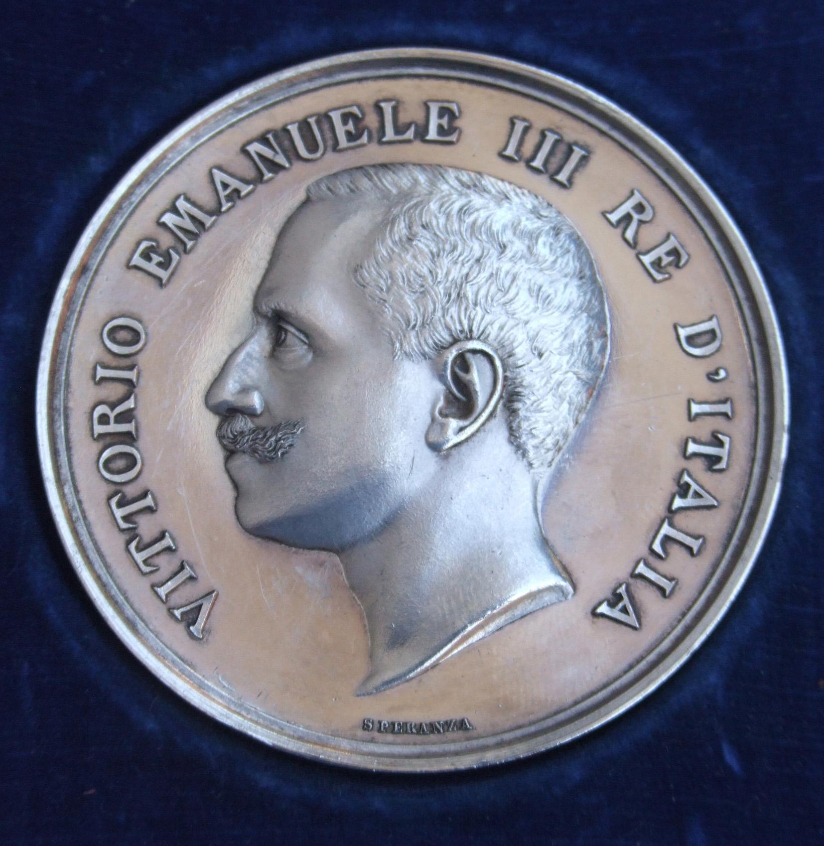 1909 03 28 Medaglia Du0027argento Per Premio Pittura Carlo Barbieri