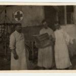 Giuseppe Solaro e altro personale sanitario presso il Collegio Nazareno di Gorizia