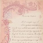 Collectie nieuwjaarsbrieven van de familie De Winter