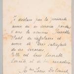 Correspondentie van Jean Meulemans en Martha Platel, item 28
