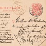 Briefkaarten en brieven aan Hendrik Verlinden \\'gistingschemist\\' te Wijnegem