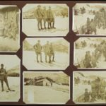 Fotografie di soldati sulla neve