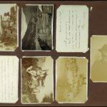 Fotografie di esterni (tomba del Tenente Attilo Calvi; giuramento di alpini)
