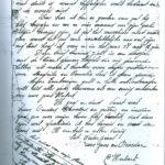 Afschiedsbrief van Hubert Cleuren.