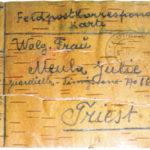 Luigi Meula in Galizia e le lettere su corteccia
