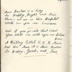 Poem about Nurse Barlow