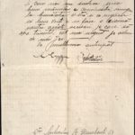 Scrisoare adresată lui Const. Gh. Cucu de către Constantin Mihailiuc