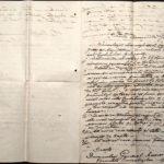 Petiţie adresată de invalizii de răboi din judeţul Botoşani generalului Averescu