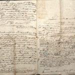 Scrisoare adresată Ministrului de Finanţe de către Const. Gh. Cucu