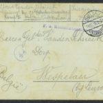 Pakketje brieven en postkaarten van 1915