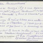 Pakketje brieven en postkaarten van 1915, item 75