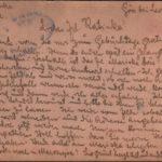 Carte poştală trimisă de F. Siegel, din regimentul de infanterie 41, Katinkăi Benedek