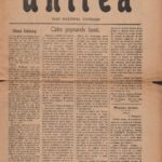 Ziarul Unirea, anul  XXVIII, nr. de propaganda 9, 23 noiembrie 1918, Blaj