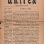 Ziarul Unirea, nr. de propagandă 11-12, anul XXVIII, 27 noiembrie 1918, Blaj