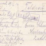 Feldpostkarten Oskar Schneider und Familie, item 8