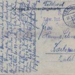 Feldpostkarten Oskar Schneider und Familie, item 12