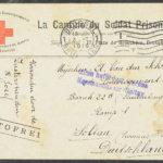 Pakketje brieven en postkaarten van 1916