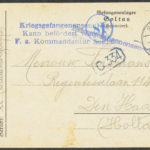 Pakketje brieven en postkaarten van 1916, item 8