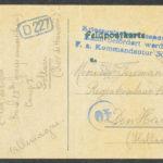 Pakketje brieven en postkaarten van 1916, item 18