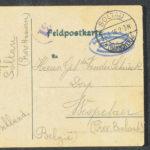 Pakketje brieven en postkaarten van 1916, item 29