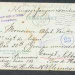 Pakketje brieven en postkaarten van 1916, item 31