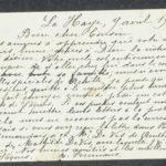 Pakketje brieven en postkaarten van 1916, item 32