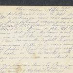 Pakketje brieven en postkaarten van 1916, item 53