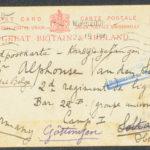 Pakketje brieven en postkaarten van 1916, item 79