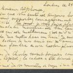 Pakketje brieven en postkaarten van 1916, item 80