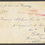 Pakketje brieven en postkaarten van 1916, item 81