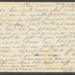 Pakketje brieven en postkaarten van 1916, item 82